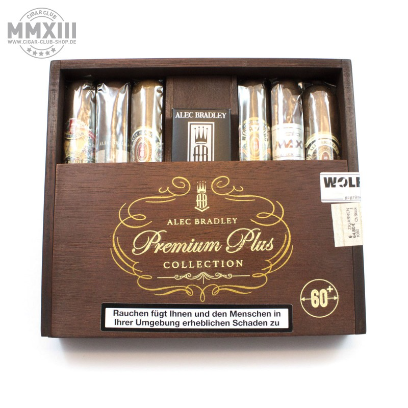 Alec Bradley Premium Plus Gordo Sampler 6 Zigarren